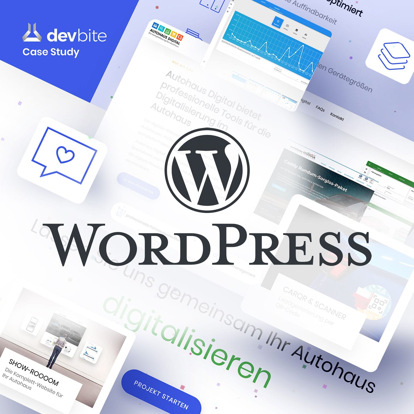 Webdesign mit Wordpress made by devbite